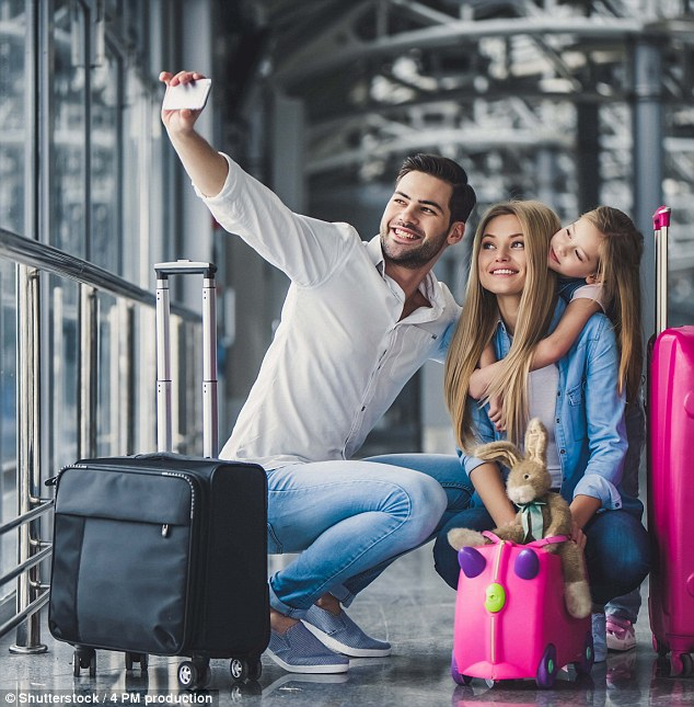 Skyscanner revealed while almost three quarters of Australians intend to catch a flight for the holidays, 84 per cent of that number had yet to book airplane tickets (stock image)