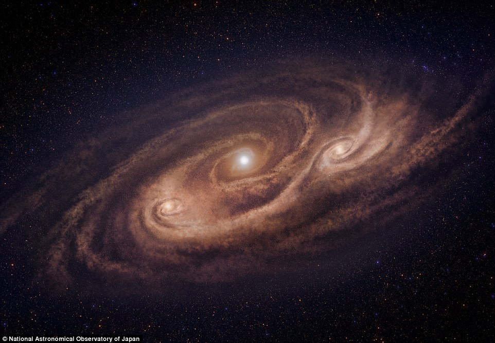 astronomers spot monster galaxy