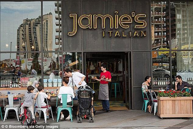 Plus tôt cette année, le groupe a annoncé la fermeture de 12 de ses 37 restaurants italiens de Jamie.