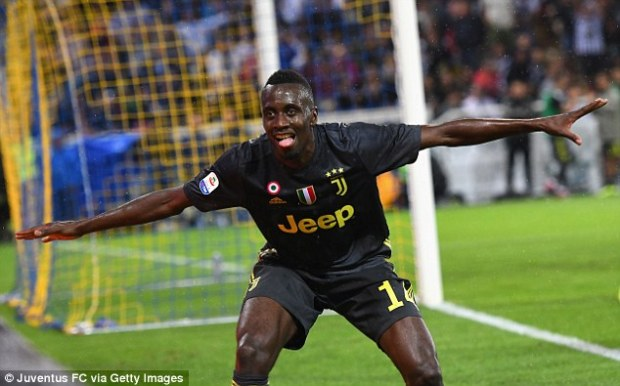 Blaise Matuidi can't hide his delight after he steered home with what proved to be the winner