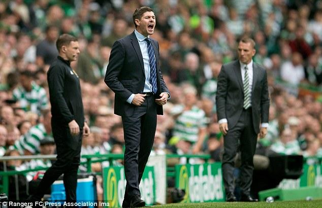 L'équipe de Steven Gerrard s'est inclinée 1-0 face au grand rival Celtic dimanche en Premier League écossaise