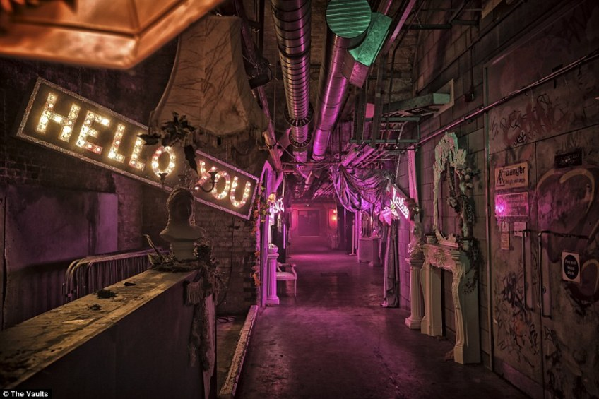 The Vaults is London's home for immersive theatre and alternative arts. The unique venue is set in a maze of disused railway arches under Waterloo station and the rattle of trains can be heard inside
