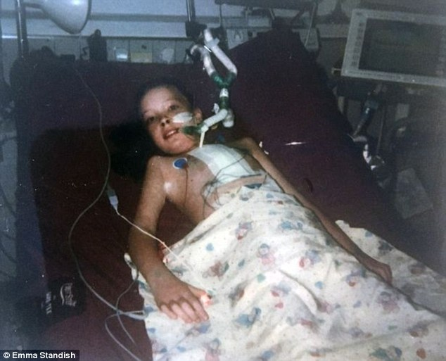 The mother-of-two was diagnosed with dilated cardiomyopathy, a condition in which the heart's ability to pump blood is decreased, at the age of nine