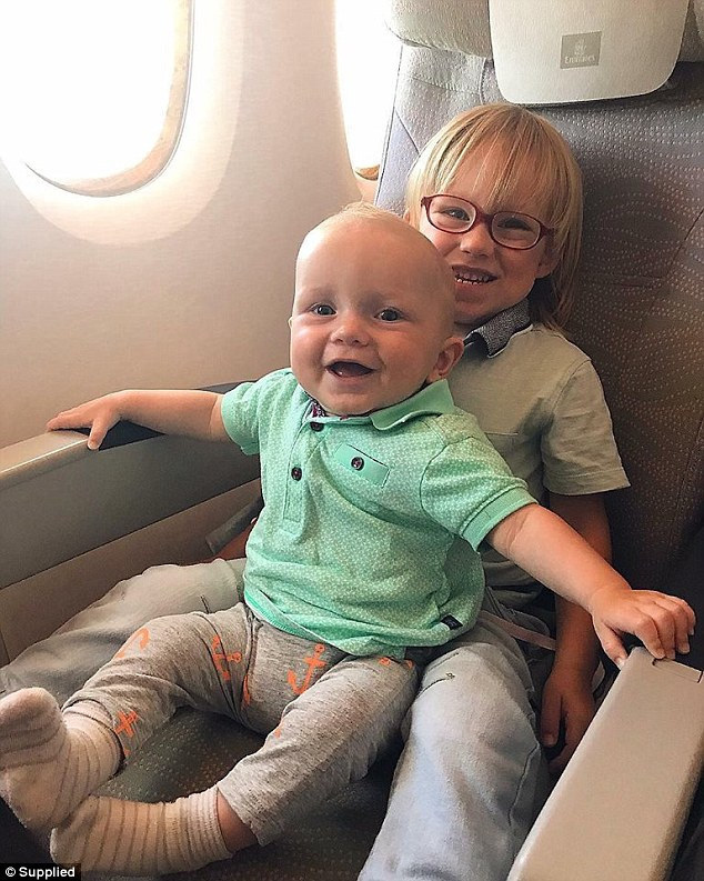 When it comes to flying Carrie said that take off and landings can be the most difficult as they can cause little one's ears to hurt