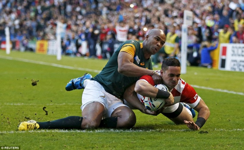 Japan's greatest achievement came at the last World Cup when they started  with a shock win over South Africa