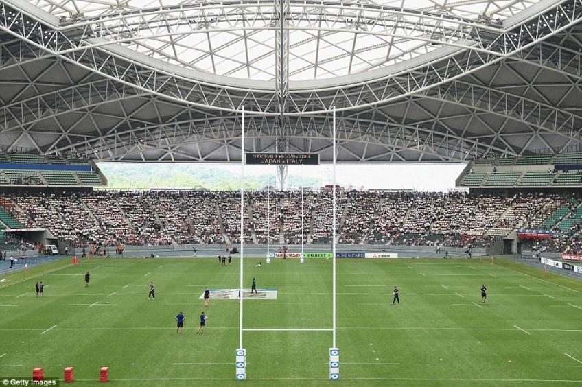 It is chiefly used for football - it's home to J1 League club Oita Trinita - and was designed by famous architect Kisho Kurokawa