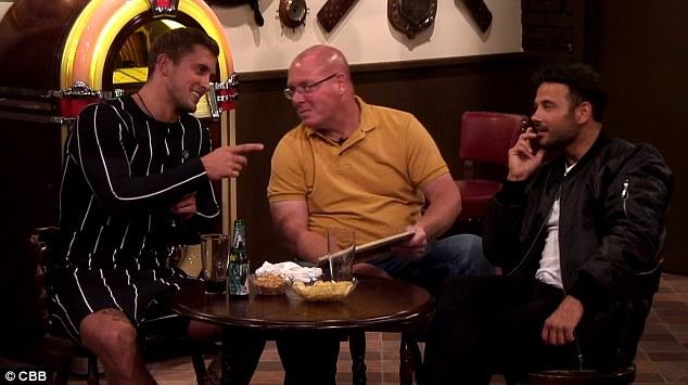 Unanimous: les coéquipiers de Dan, Nick Leeson et Ryan Thomas, ont également convenu que Ben choisirait Gabby