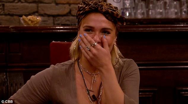 Red Face: Gabby a rougi quand Ben a révélé qu'il espérait la sortir quand elle quitterait la maison