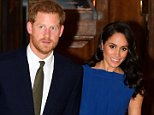 Prince Harry and Meghan Markle (pictured last week) have announced their full royal tour as a couple in October