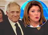 Speaking out:Norah O'Donnell said she and Gayle King support the decision made by CBS after Les Moonves was forced to resign on Sunday (O'Donnell above on Monday)