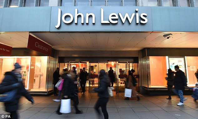 Struggle:John Lewis will report results which are likely to show profits 'close to zero'