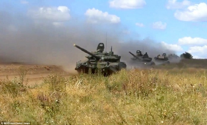 Wednesday will see games featuring anti-aircraft technology, while the main event will be on Thursday, the defence ministry said