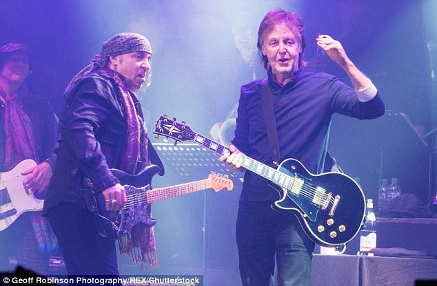 Comeback: Sir Paul McCartney est revenu à sa carrière musicale en juillet avec un concert au Cavern Club de Liverpool - plus de six décennies après la première apparition du groupe sur scène (au Roundhouse en novembre 2017)