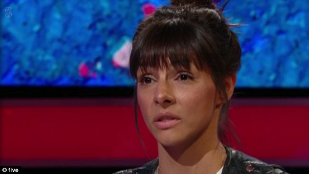 Shock:The 34-year-old former Coronation Street star appeared on The Jeremy Vine Show on Wednesday morning to discuss the incident in which he was accused of 'deliberately and repeatedly punching' his co-star Roxanne Pallett