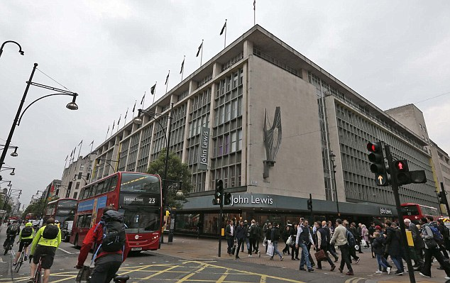Chairman Sir Charlie Mayfield said Brexit was creating uncertain times but added 'the department store is not dead'
