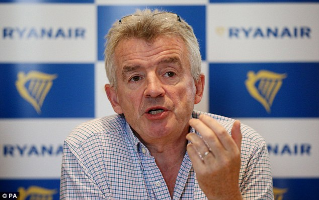 Speaking on Wednesday,Ryanair CEO Michael O'Leary described the strike in Germany as a 'failure'