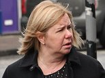 Karen Humphries (pictured) has admitted overpaying her husband by £75,000