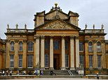 Blenheim Palace (above) is a monumental country house in Oxfordshire. It is the residence of the Dukes of Marlborough, and the only non-royal, non-episcopal country house in England to hold the title of palace
