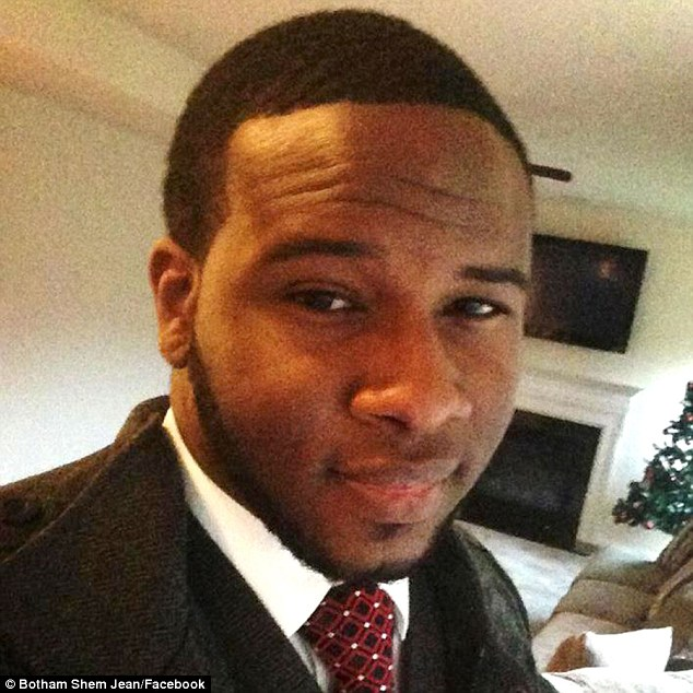 Botham Jean, who was shot and killed by his downstairs neighbor, Amber Guyger