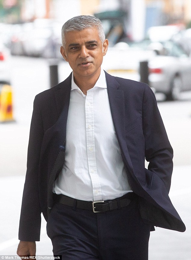 Mr Khan (pictured today at the BBC) will anger Brexiter, who insists that the vote be honored in June 2016