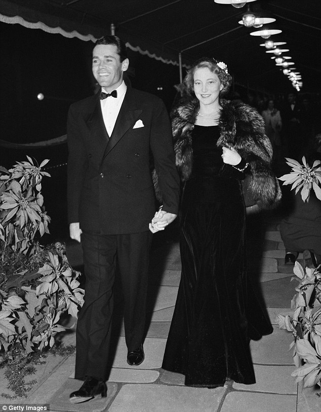 'It has a big impact on your sense of self,' Jane says of never really knowing her mother. Her mother Francesand father Henry Fonda are pictured at an event in 1940