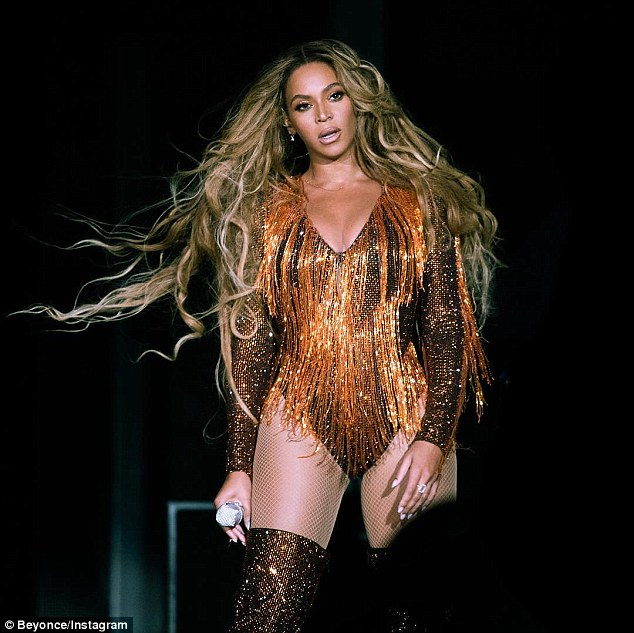 Bizarre: Beyonce has been accused of practicing 'extreme witchcraft' by drummer Kimberly Thompson who sought a restraining order against the superstar
