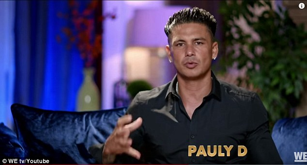 """Later, Pauly said he was """"hurt"""" by O & Day and complained to the camera: """"Someone I want to spend the rest of my life with is someone I trust and everything that's been broken. I was thrown out the door the moment I heard that he wanted to be dead, and in all my life I will never put time and effort in someone who wants me dead """""""