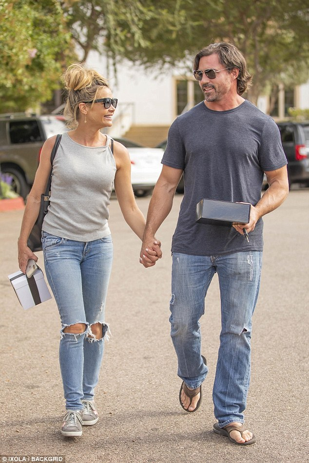 Denise Richards And New Husband Aaron Phypers Are All