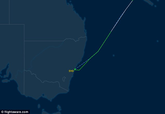 A United Airlines flight from Los Angeles has made an emergency landing at Sydney Airport after a mayday call from the pilot