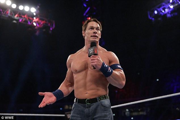 wrestling fans mock john