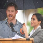 Meghan Markle and Prince Harry at Dubbo Senior College