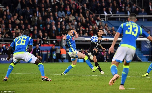 The Argentine curled a brilliant left-footed effort into the top corner from the edge of the box deep into injury time