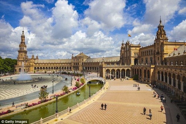 Highlight: The Plaza de Espana scenery for the films Lawrence of Arabia and Star Wars