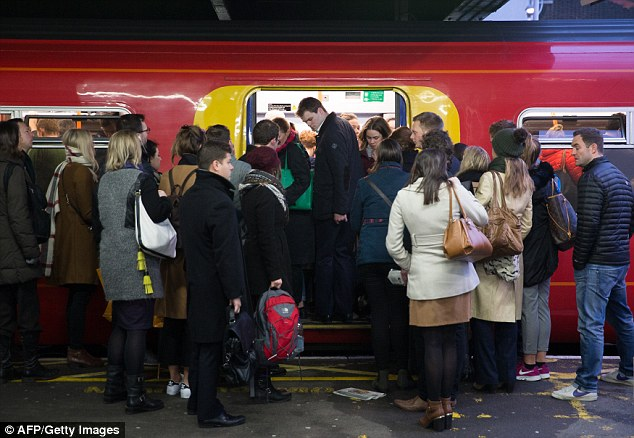 All aboard: 'Regulated rail fares' are due to rise by an average 3.1 per cent in January