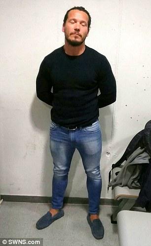 Jamie Acourt, pictured after his arrest