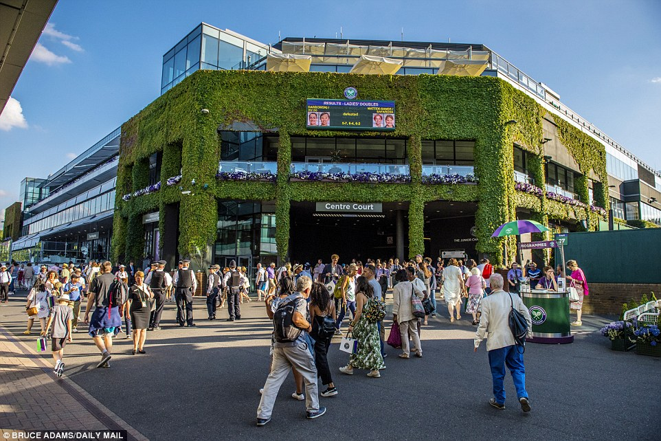 For many years Wimbledon officials has explored ways of creating much needed extra space at SW19