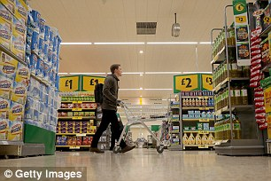 KPMG said the food sector performed better than others over Christmas