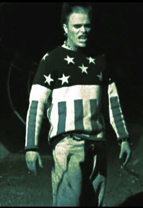 Flint in the video for 1996 hit Firestarter