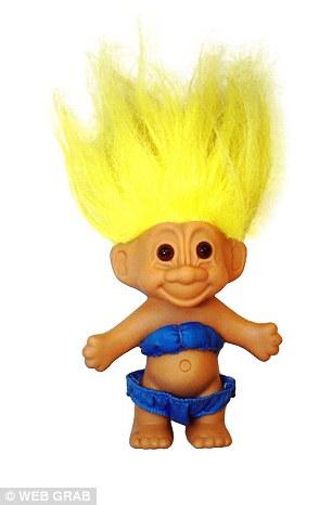 A troll doll