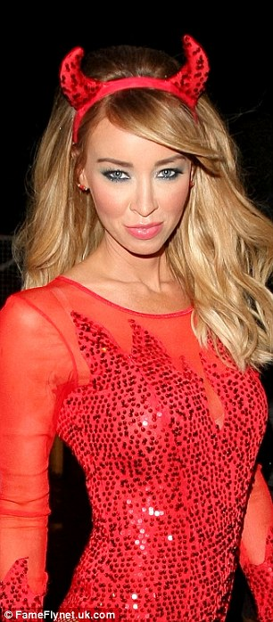 Lauren Pope at the Sugar Hut on Halloween