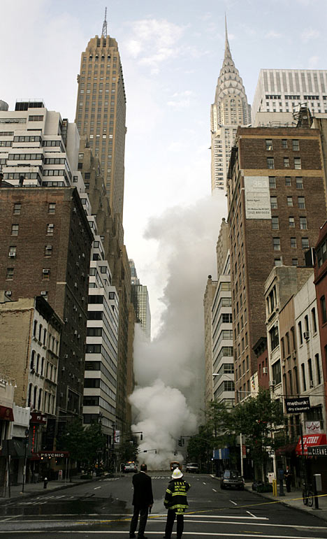Explosion Tears Through New York In Replay Of September 11