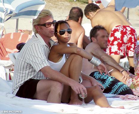 Boris Becker Gets Frisky With His Doppelganger Girlfriend