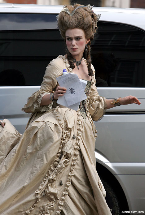Keira Knightleys very big hair day  Daily Mail Online