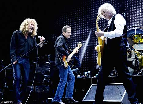 Image result for led zeppelin 2007