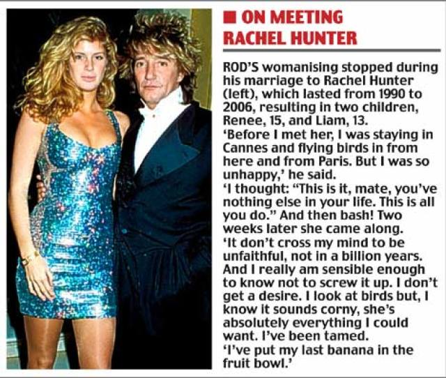 Rod Stewart Three Wives Seven Children And My Beloved Train Set Why Its Such Fun Being Me Daily Mail Online