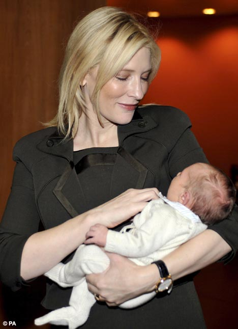 Radiant Cate Blanchett Shows Off New Son Ignatius Just A