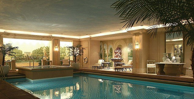 Spa report George V Four Seasons Paris  Daily Mail Online