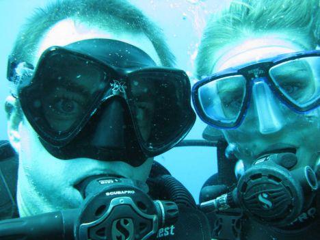 British divers