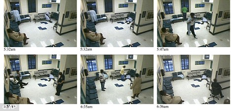 Caught on camera Patient dies on hospital floor as staff