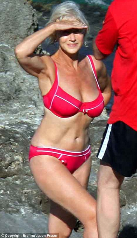 Hellen Mirren Bikini, Body Of The Year 2011
